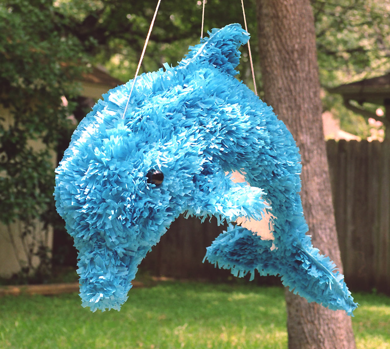 Dolphin Pinata on Simple Paper Collage Ideas For Kids