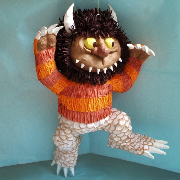 where the wild things are pinata piñata boy